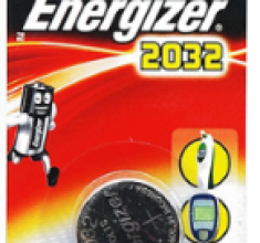Pin CMOS Energizer CR2032