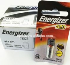 Pin tròn mini Energizer A23